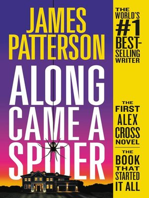 Cover image for Along Came a Spider.