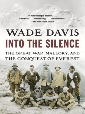 Cover image for Into the Silence.