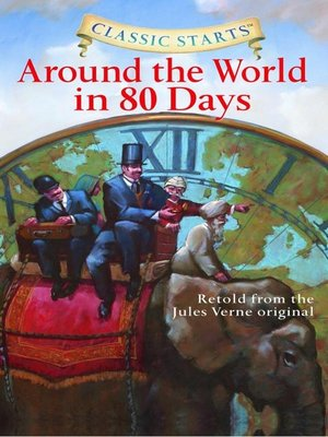 Cover image for Around the World in 80 Days.