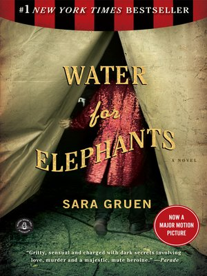 Cover image for Water for Elephants.