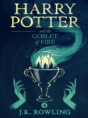 Cover image for Harry Potter and the Goblet of Fire.